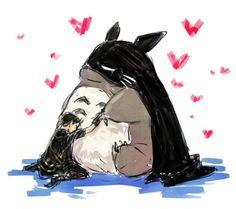 Totoro Batman et Robin