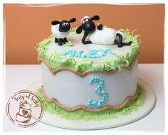 Shaun the Sheep - Cake by cakebysaska
