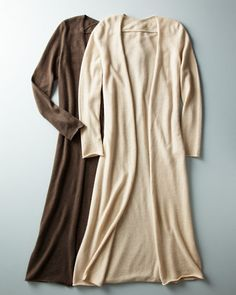 Eco-Cashmere Duster