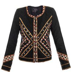 ShopStyle: Isabel Marant Hippo embroidered jacket