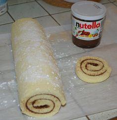 Gateau roulé au Nutella