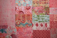 Handmade Papers using a Gelli Plate for use in Collages, Art Journals, Mixed Media Art, Scrapbooks, Smash Books, Cards, Crafts and more! #51 by KrisCollageMadness on Etsy