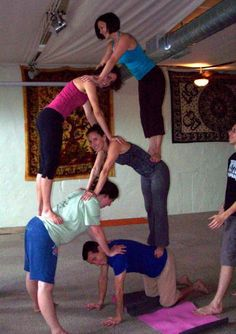 Yoga Helpful Techniques For yoga poses for kids Group Yoga Poses, Acro Yoga Poses, Yoga Poses For Two, Partner Yoga Poses, Easy Yoga Poses, Cool Poses, Cheer Poses, Cheer Pictures, Friend Pictures