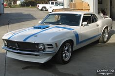 Ford Mustang Boss302 by Dominator Street Rods in Tracy CA . Click to view more photos and mod info.