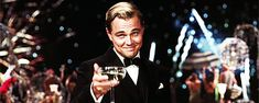 Trending GIF cheers drinking smiling fireworks champagne leonardo dicaprio new years eve happy hour fourth of july the great gatsby Leonardo Dicaprio, Gif Animé, Animated Gif, Elizabeth Ii, Trivia, 20th Century Fox, Cheers, Sport Fitness, Fitness Tips
