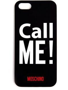 Moschino Call Me Iphone Case - Browns - Farfetch.com
