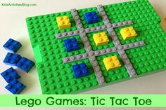 Make a LEGO Game: Build a LEGO Tic Tac Toe Board
