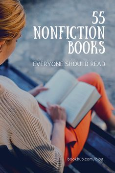 Whether you're looking for inspiration or just a good laugh, check out our list of some of the best nonfiction books to read in a lifetime. Best Non Fiction Books, Historical Fiction Books, Best Books To Read, Read Books, Buy Books, Book Club Books, Book Lists, Reading Lists, Book Art