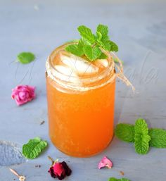 ginger lemonade tea