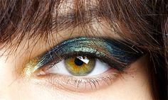 Iridescent eye makeup by Pat McGrath at John...