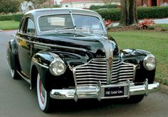 1941 #Buick Coupe - Love that #Chrome! #Classic #Style #Design #Beauty