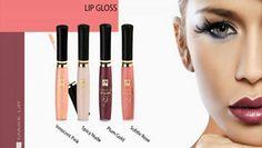 Kies de PERFECTE GLOSS! Een verleidelijke kleur en subtiele glans. Verkrijgbaar in 4 kleuren. www.ritaderudder.be
