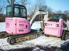 PINK BOBCATS!!! This is sweet!