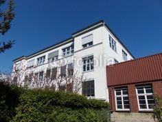 Altes Fabrikgebäude in der Sudbrackstraße in Bielefeld im Teutoburger Wald in Ostwestfalen-Lippe