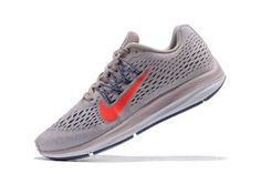 62953434efc7 Womens Nike Air Zoom Winflo 5 Aviator Grey Geode Teal Barely Grey White  AA7414 600 Running