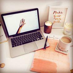 #stylowipl #stylowi #biurko #praca #work #inspiracja #love #dziewczyna