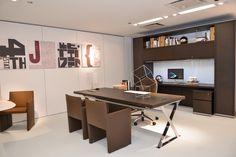 Beautiful modern furniture for an Executive Office - the AC Executive Desk by Antonio Criterio for B&B Italia