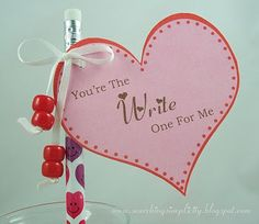 """valentines for students - I would change it to: your the """"write"""" friend for me."""