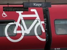 Train with lot of space to bring your bike for free in Denmark