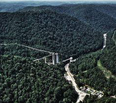 A coal loading facility for a large suface mining complex in West Virginia