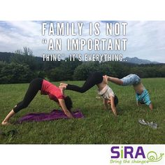 Family is not an important thing its everything . . . #yoga #yogalife #yogateacher #yogalesson #yogatraining #yogakids #flyyogakids #flyyoga #aerialyoga #vegan #veganlife #veganrecipes #sport #crossfit #fitmom #fitmommy