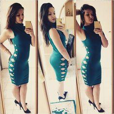 #lady #cocktaildress #mihradesign #lovegreen #fashion #couture #design #dressfashion  #shop  #kupovina  #narudzbe   http://bit.ly/2bQaaAI