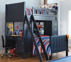 I love the Camp Bunk System on potterybarnkids.com for the boys' room, now if I could just get a MAJOR discount!
