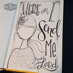Sweet To The Soul Ministries - 30 Days of Bible Lettering July