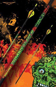 Black Eagle Zombie Slayer Arrows - Spine 350