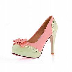 Latasa Women's Chic High-heel Stiletto Platform Dress Shoes, Bows Upper (4.5, light green) Latasa http://www.amazon.com/dp/B00QY6SI1C/ref=cm_sw_r_pi_dp_MBvjvb0MRKADA