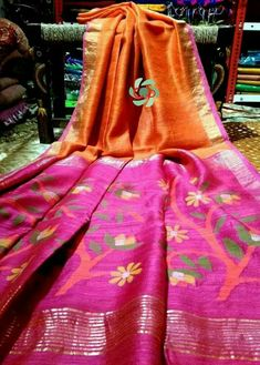 Matka jamdani sarees Price:6150 Order what's app 7995736811