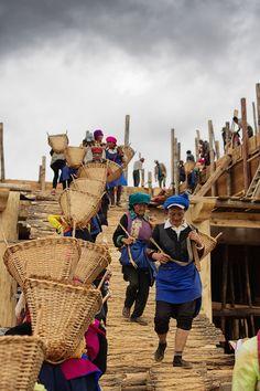 It takes a village . Yunnan China