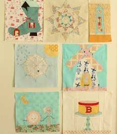 cocorico {a patchwork bee} there are some really cute blocks for inspiration on here