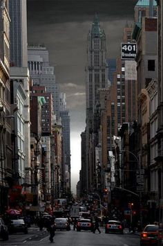 """new-york-obsession: """"NYC. Fifty shades of grey sky """" Places To Travel, Places To See, New York City, Ville New York, Concrete Jungle, City Photography, Nature Photography, Gotham City, City Streets"""