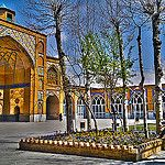Sultani Mosque of Boroujerd Mosque, Iran, Mansions, House Styles, Home Decor, Decoration Home, Room Decor, Fancy Houses, Mosques
