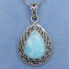 .925 Sterling Silver Blue Cz Charm Pendant Msrp $105 Removing Obstruction Precious Metal Without Stones Fine Jewelry