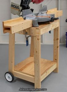 plans for miter saw table