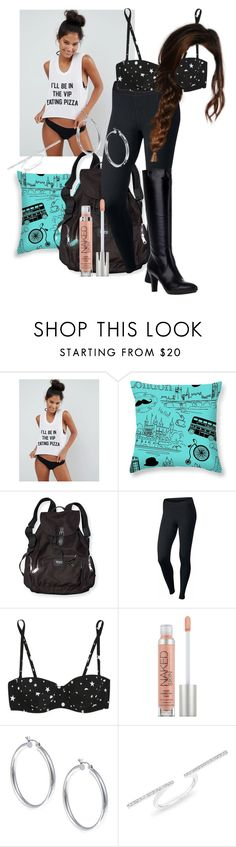 """""""Thanks For The Ride"""" by dancer-sos on Polyvore featuring Private Party, Victoria's Secret PINK, NIKE, Dolce&Gabbana, Urban Decay, Sterling Essentials, Anne Sisteron and Aquatalia by Marvin K."""