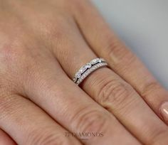 Eternity Stacked Wedding BandsAnniversary JewelryWedding AnniversaryDiamond Anniversary BandsStacked RingsCladdagh RingsRight Hand