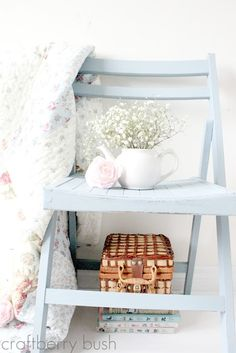 DIY chalk paint SILLA PLEGABLE