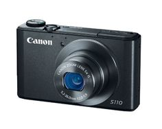 Recommendé par HeyClaire! Canon PowerShot S110 12MP Digital Camera with 3-Inch LCD (Black) Canon