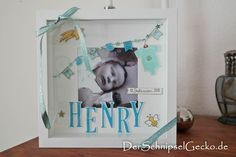derschnipselgecko Stampin Up Letters for you - Für Himmelsstürmer - Something for Baby - türkis - himmelblau - aquamarin - Ikea Ribba http://dini.derschnipselgecko.com/category/meine-kreationen/geburt-letters-for-you-baby-ribba/