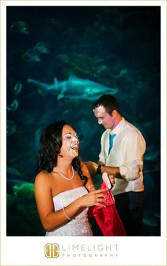 FLORIDA AQUARIUM, Bride and groom, Wedding, Limelight Photography, Wedding Photography  stepintothelimelight.com