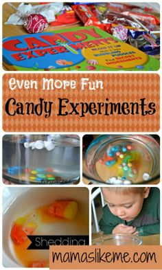 Mamas Like Me: More Candy Experiments & a Giveaway