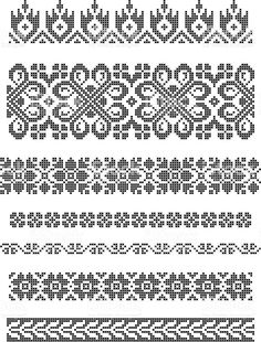 Thrilling Designing Your Own Cross Stitch Embroidery Patterns Ideas. Exhilarating Designing Your Own Cross Stitch Embroidery Patterns Ideas. Cross Stitch Borders, Crochet Borders, Filet Crochet, Cross Stitch Designs, Cross Stitching, Cross Stitch Patterns, Border Embroidery, Floral Embroidery Patterns, Hand Embroidery Designs