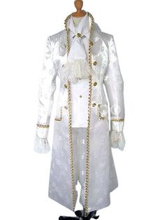 White Anime Cosplay Costume. Make you the same as the character in the cosplay costume for cosplay show.. See More Other Cosplay at http://www.ourgreatshop.com/Other-Cosplay-C873.aspx