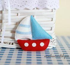 keçe yelkenli gemi bebek mevlüt şekeri