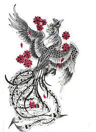 tatouage phénix dos femme - Google Search