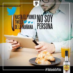 Hasta el primer tweet de la mañana, no soy persona. #HablandoenPlata