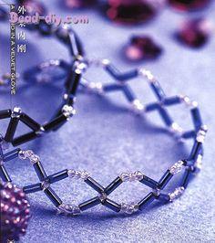 bugle beads bracelet